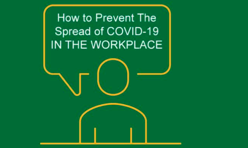 How to prevent the spread of cover-19 in the workplace
